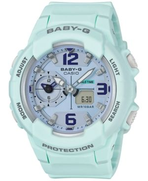 25f6a126e1d G-SHOCK G-SHOCK WOMEN S ANALOG-DIGITAL BABY-G SKY BLUE RESIN STRAP WATCH  49MM BGA230SC-3B.  g-shock