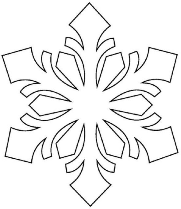 These Printable Snowflake Templates Will Get Your Kids Through Any Snow Day