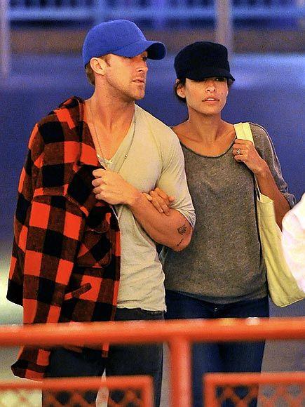 Ryan Gosling and Eva Mendez... hot!