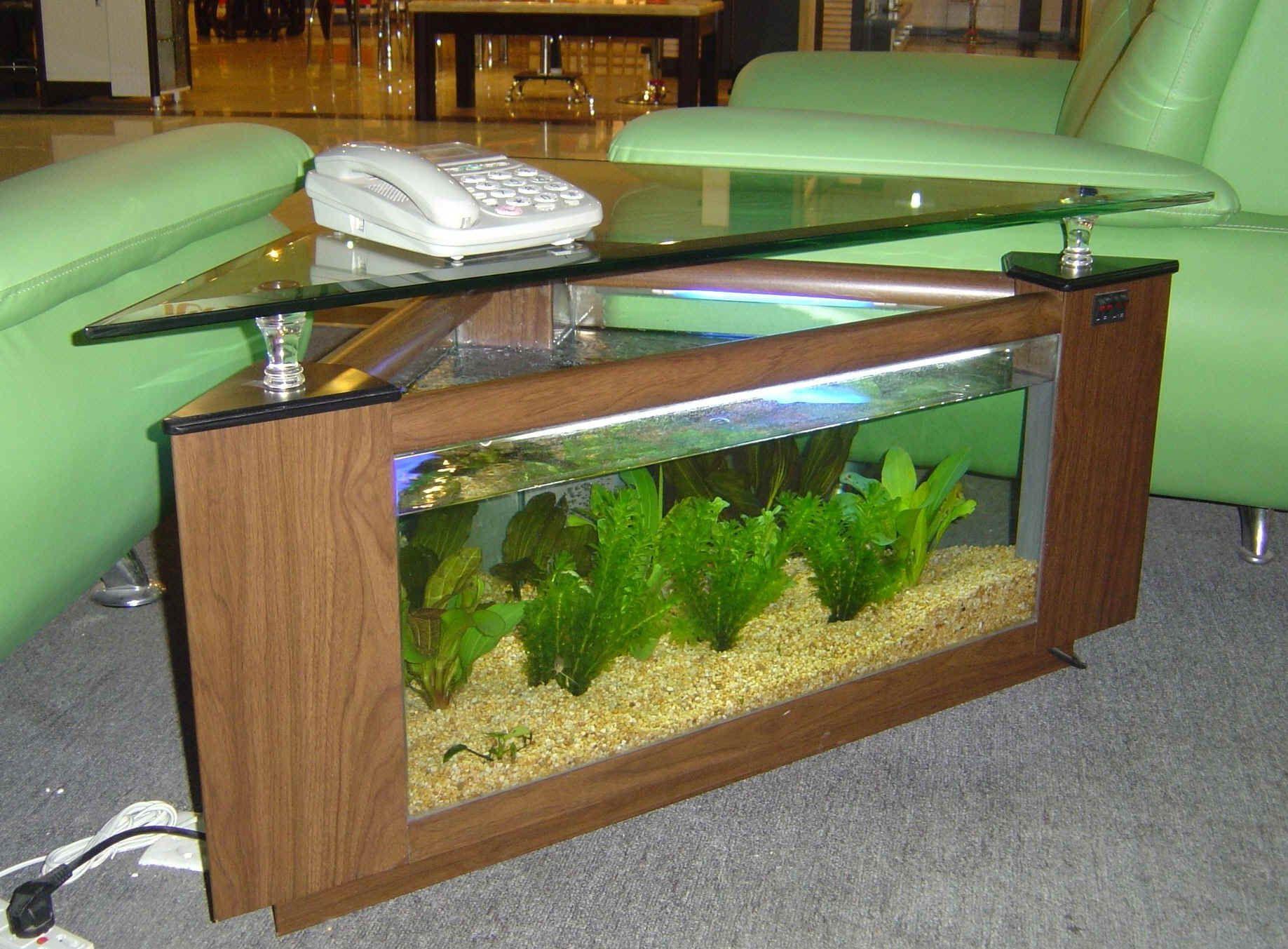 Www 4fishtank Com Coffee Table Aquariums New York Aquarium Coffee Table Diy Aquarium Bedroom Decor Lights [ 1353 x 1837 Pixel ]