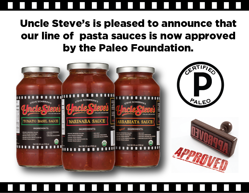 Uncle Steve's is Paleo approved!  #cleanfood  #organic
