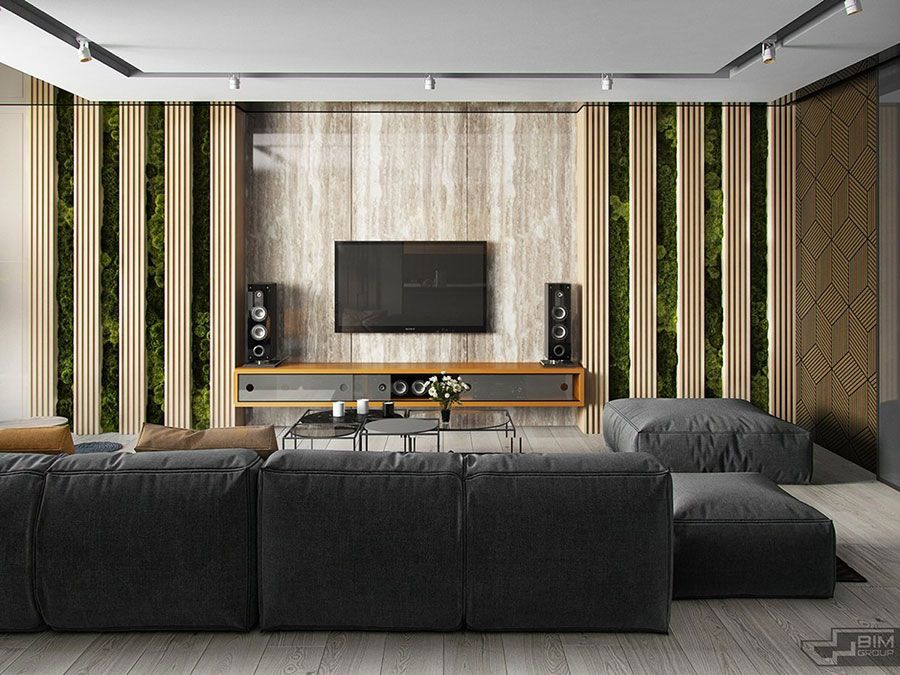 Parete TV: 35 Idee di Arredamento dal Design Originale | House ...