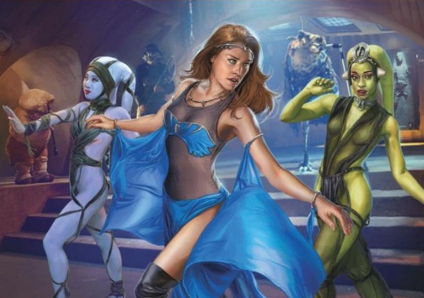 Characters Dancers Wars Star Jabba