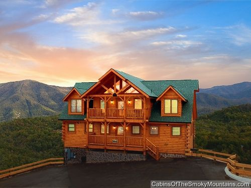 Pigeon forge cabin greenbriar grace 5 bedroom my - 4 bedroom cabins in gatlinburg tn ...