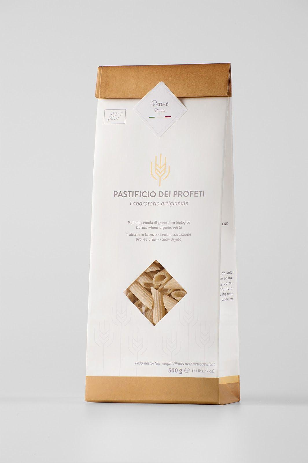 Pastificio dei Profeti on Packaging of the World - Creative Package Design…
