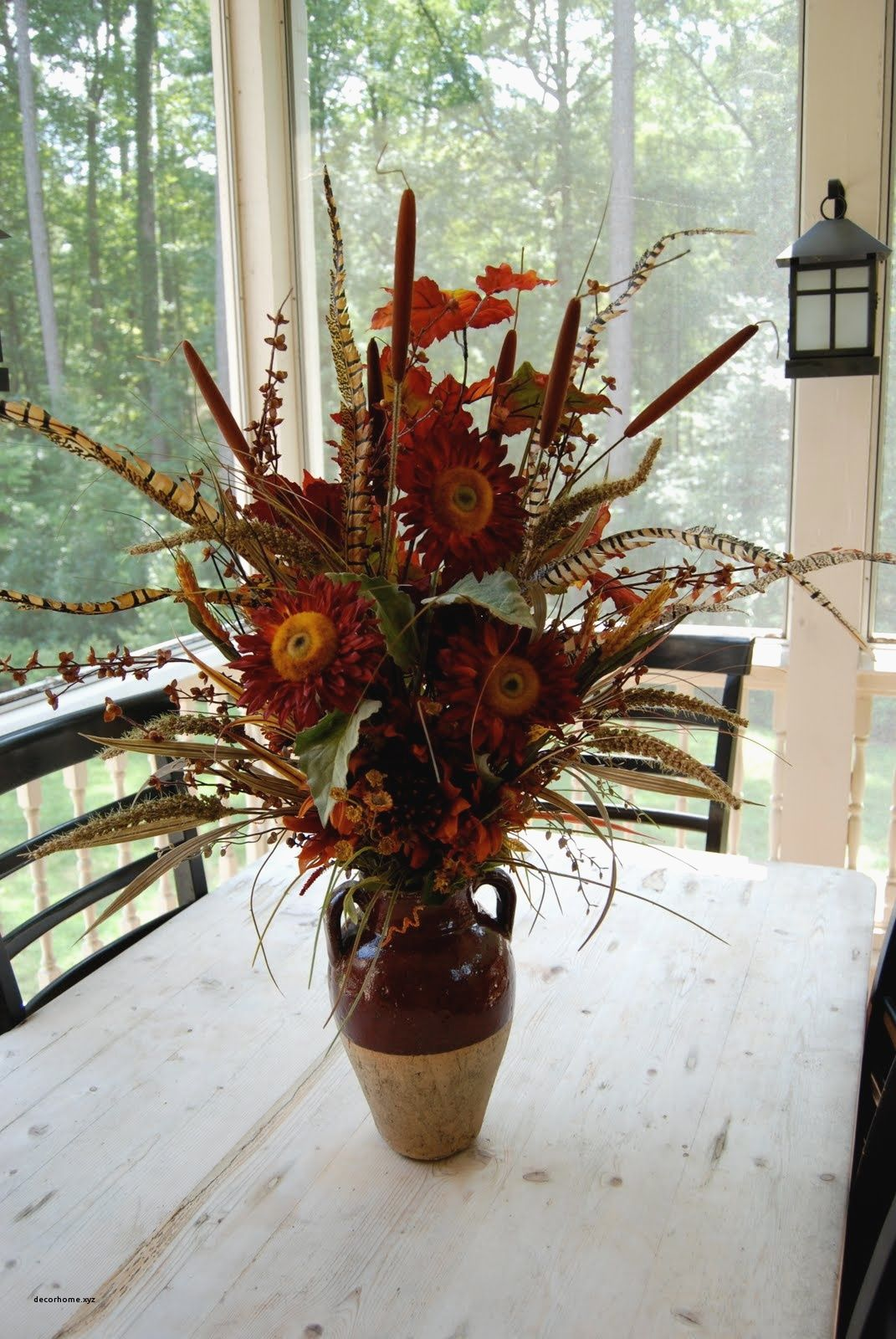 artificial flower arrangements for fireplaces on Pin On Home Decor