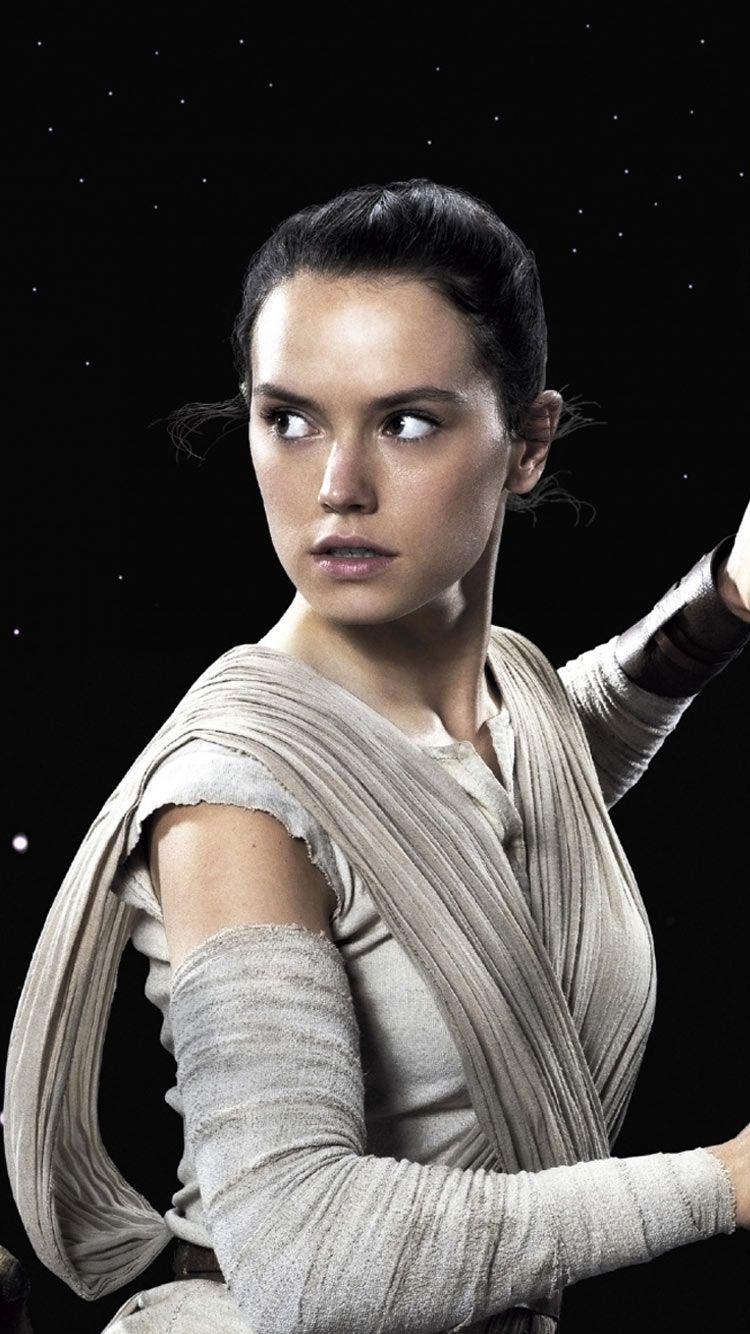 Star Wars Rey Iphone Wallpaper Jpg 750 1334 Daisy Ridley Star Wars Rey Star Wars Star Wars Episode Vii