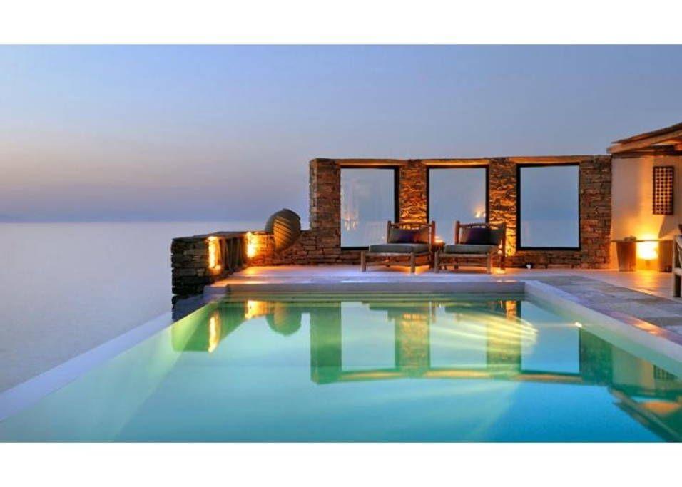 Villa Carpediem Sea Sunset View Houses For Rent In Melissaki Swimming Pool Prices Swimming Pools Pool