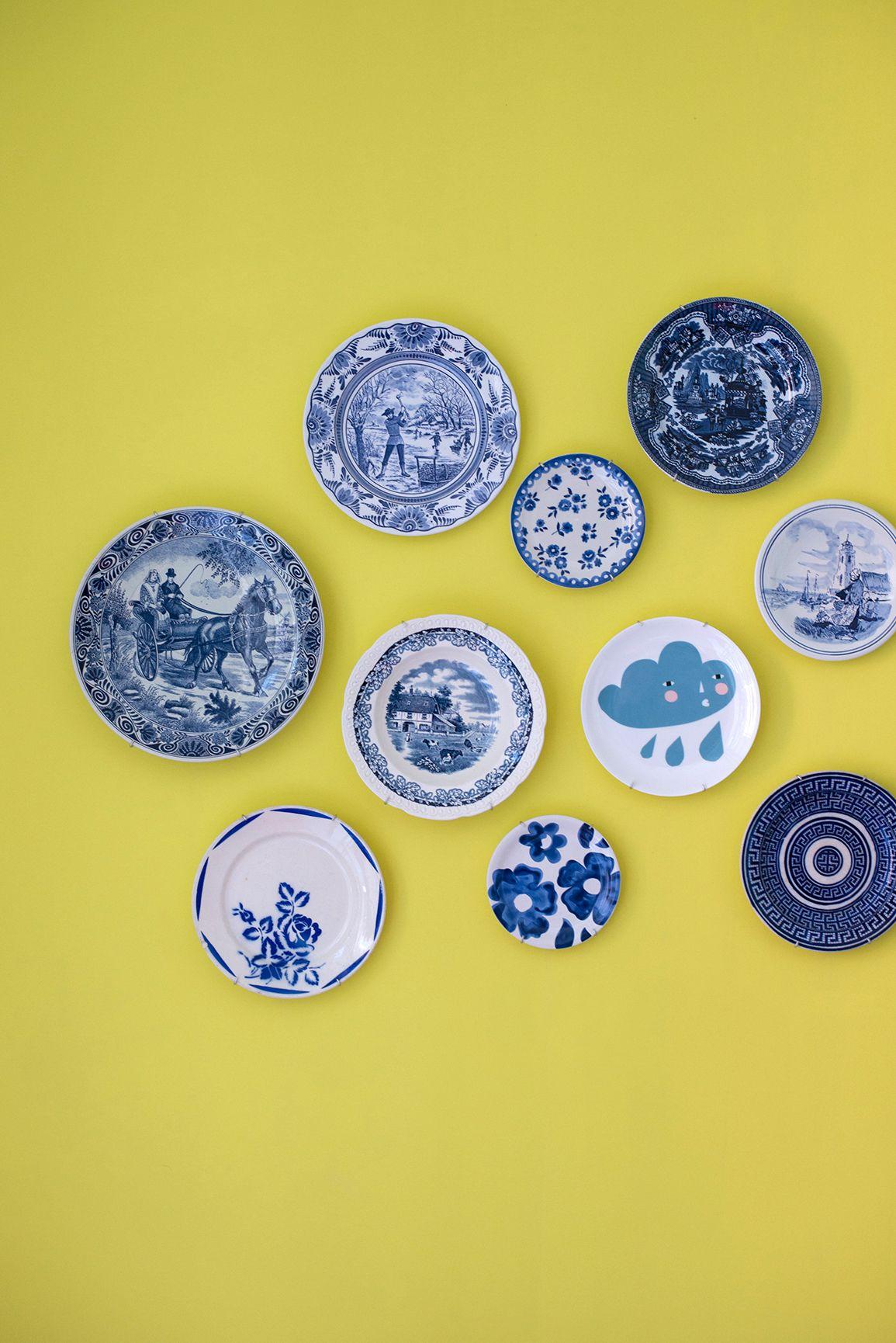 Femkeido Interior Design - Project Delft | Delft ware plates ...