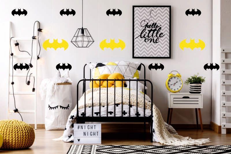 Kup Teraz Na Allegro Pl Za 7 50 Zl Naklejki Na Sciane Znaczek Logo Batman Super Cena 7504408816 Allegro Pl Rado Home Decor Home Decor Decals Toddler Bed