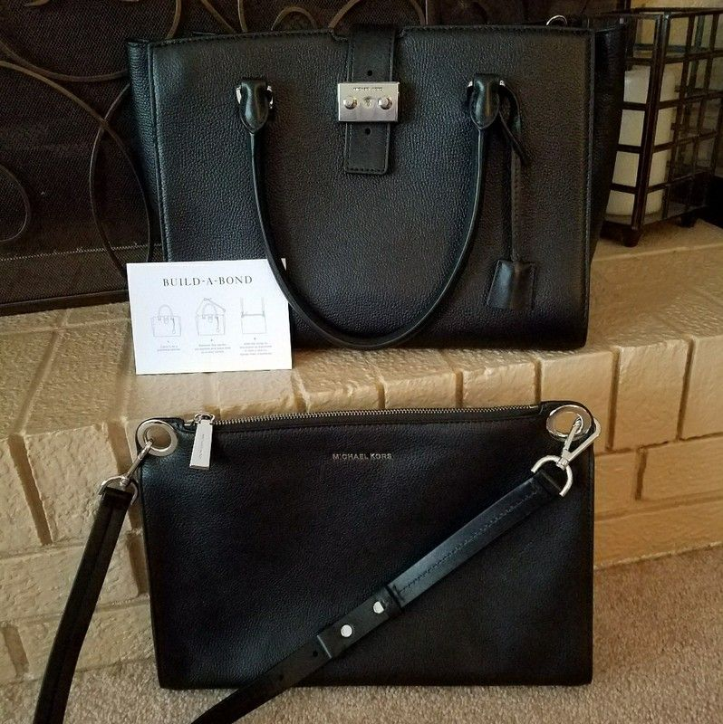 97b3382a5530 Michael Kors Bond Satchel/2 Bags! | my vinted closet | Bags, Michael ...
