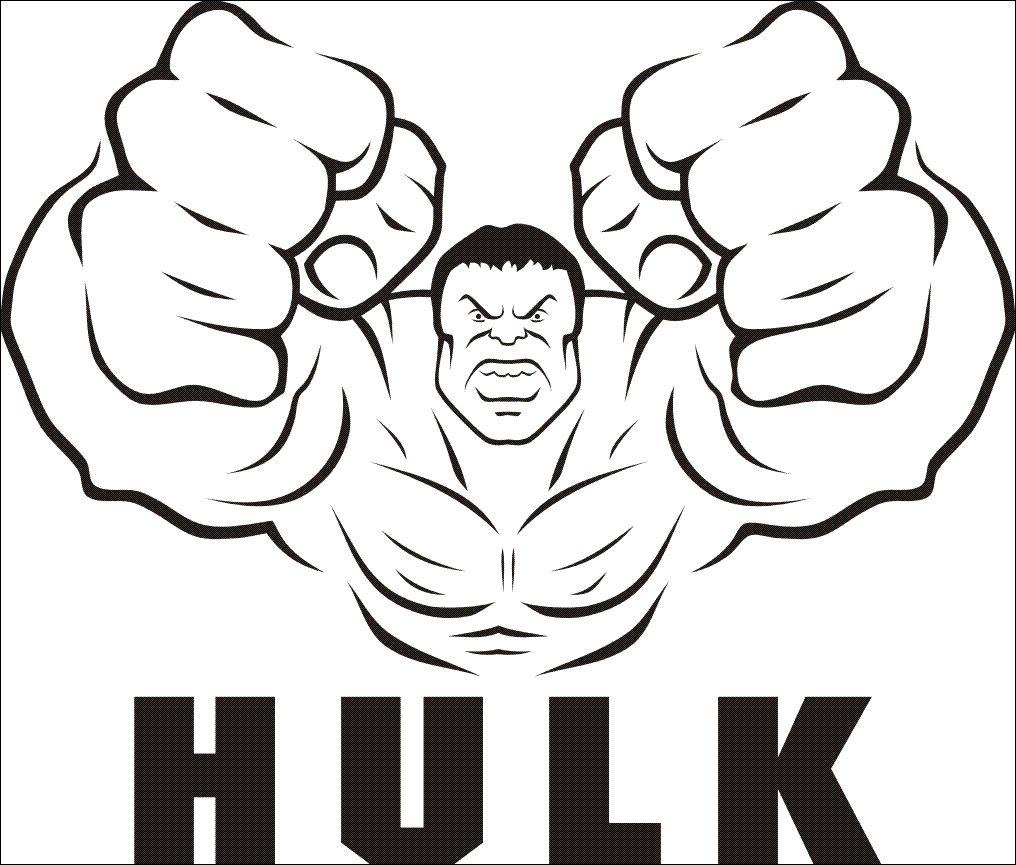 17 Grand Hulk Dessin Photograph