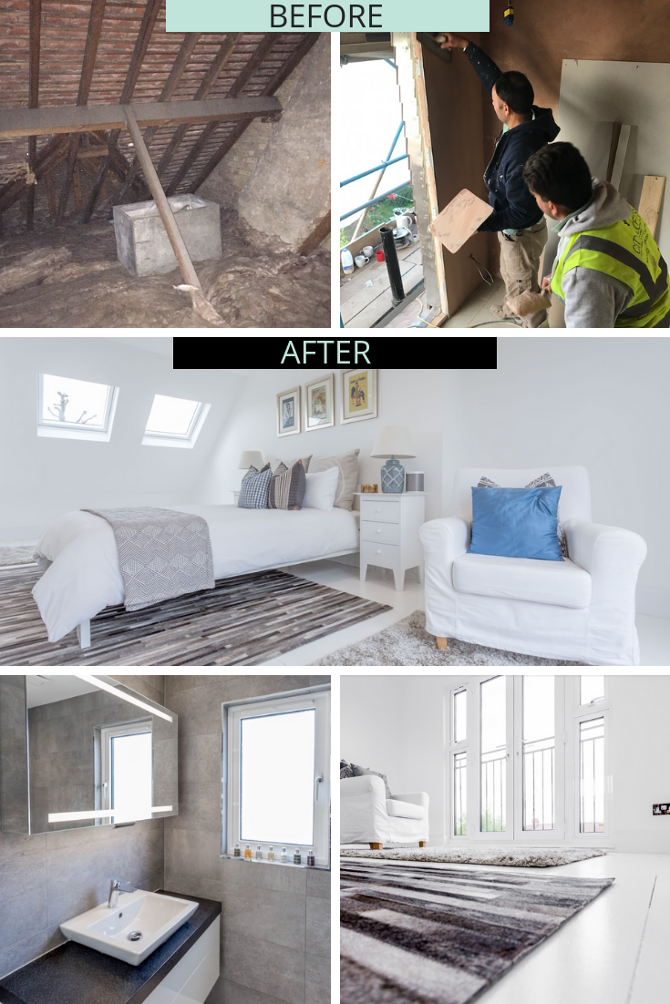 See How We Have Transformed This Dusty Attic Into A Stunning New Loft Loft Conversion Before And After Loft Conversion Plans Loft Conversion