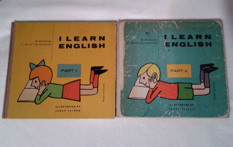 I Learn English 1 I 2 Cz Podrecznik Z 1964 Roku 7730527469 Oficjalne Archiwum Allegro Learn English Learning Book Cover