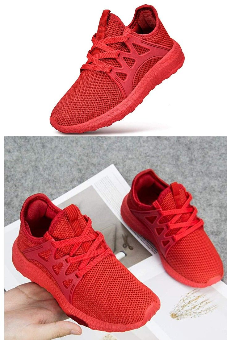 Kids Sneaker Mesh Breathable Athletic Running Tennis Shoes for Boys Girls Hiking