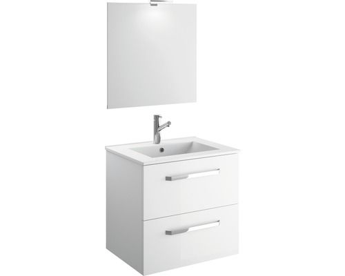 Set Koupelnoveho Nabytku Eek A Titlis Quick 60cm Bily Nakoupite Vyhodne Na Hornbach Cz Badmobel Set Moderner Schrank Unterschrank