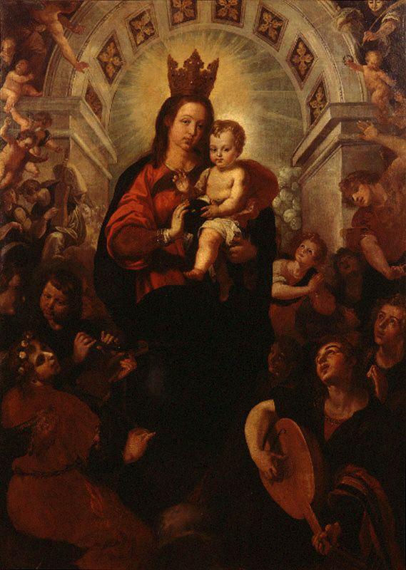 Virgen de Portacoeli // 1625 – 1627 // Francisco Ribalta 1565 - 1628 // #VirginMary #VirgenMaría