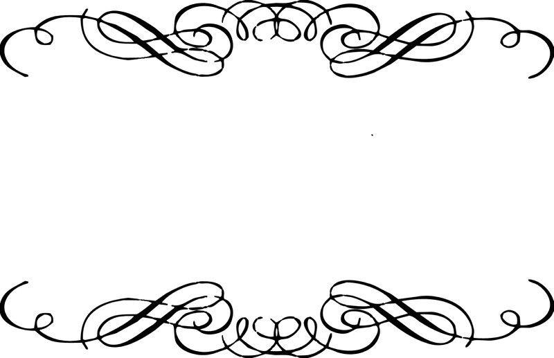 Swirl Border Clip Art Borders Free Clip Art Wedding Clipart Free