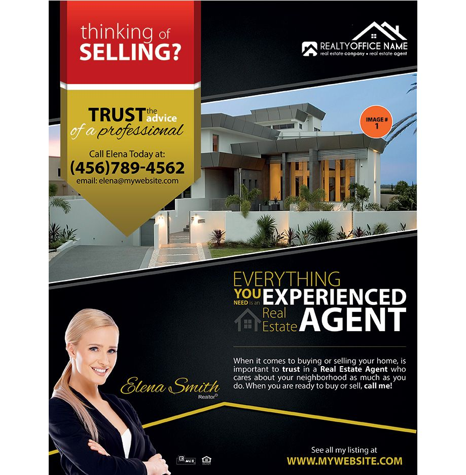 Real estate flyer ideas real estate agent flyer ideas for Real estate home ideas