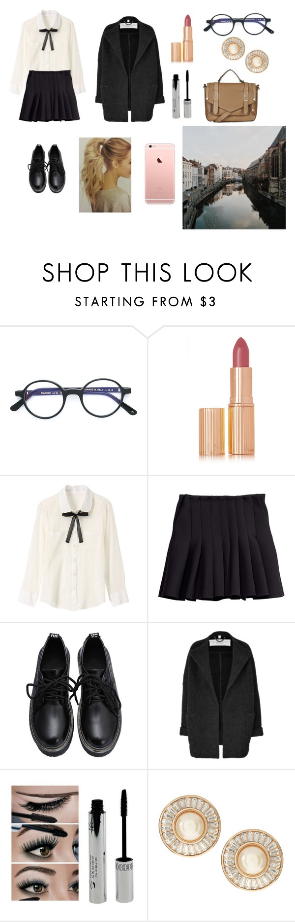 """Untitled #111"" by margaridadelrey117 ❤ liked on Polyvore featuring beauty, L.G.R, Charlotte Tilbury, H&M, Burberry, Christian Dior and Topshop"