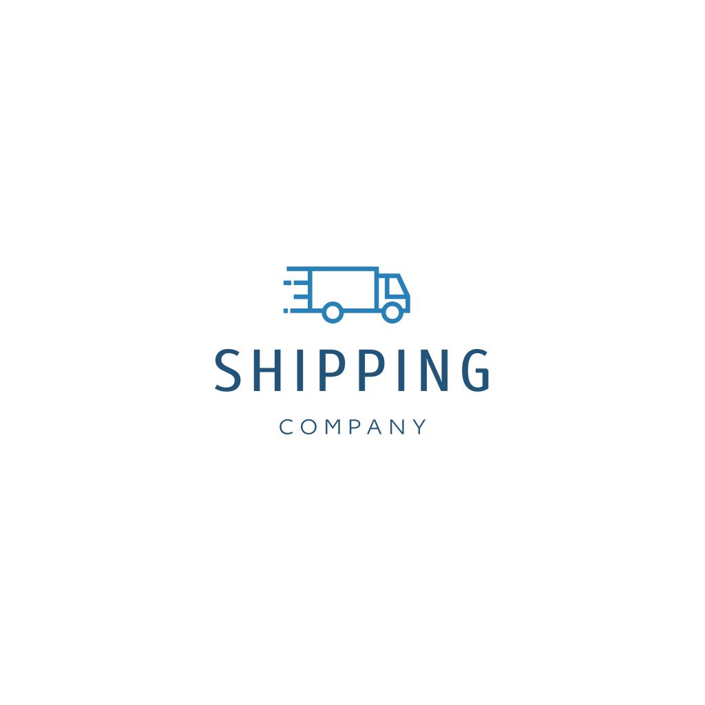 Fast Truck Logo Company Logo Design Logos Service Logo