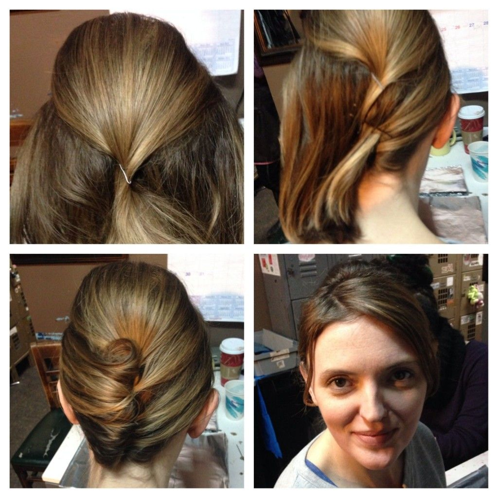 Roxiejanehunt 3 Charming Up Do S For Short Hair Daily Wear Hair Styles Roll Hairstyle Curly Hair Styles Naturally