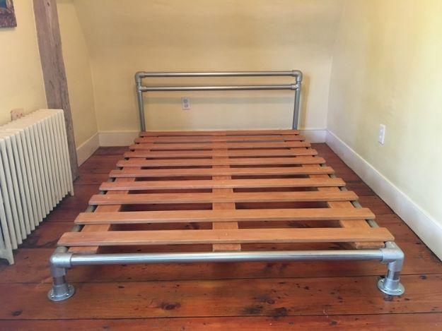 34 DIY Bed Frames To Make for the Bedroom Full bed frame