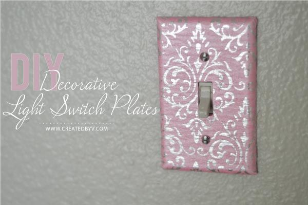 Diy Decorative Switch Plates Outlet Covers Created By V Decorative Switch Plate Switch Plates Decorative Mesh Wreaths