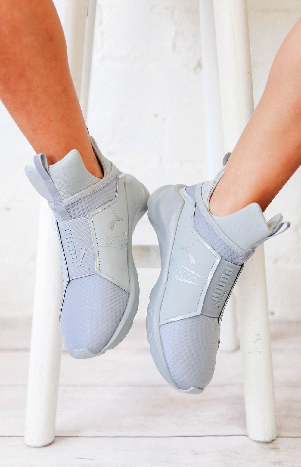 puma quilted shoes