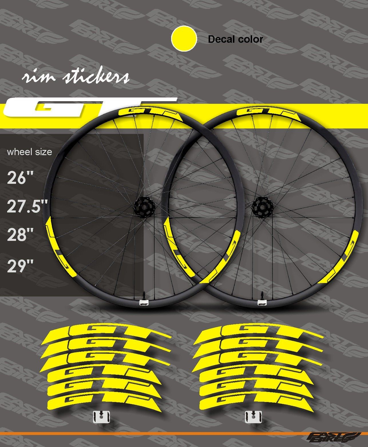 Bicycle Cycling Sticker Decal Challenge Handmade Tires