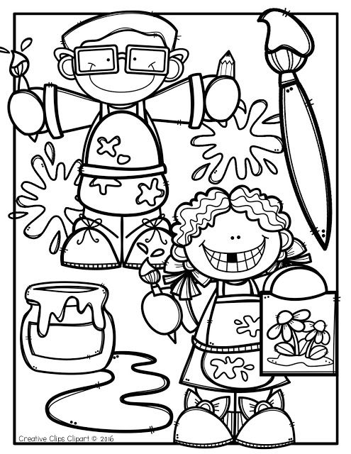 Arte Para Colorir Art Drawings For Kids Coloring Books