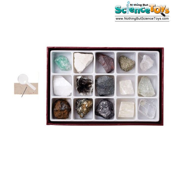 ToySmith Geo Mysteries Mineral Rocks Quartz Educational