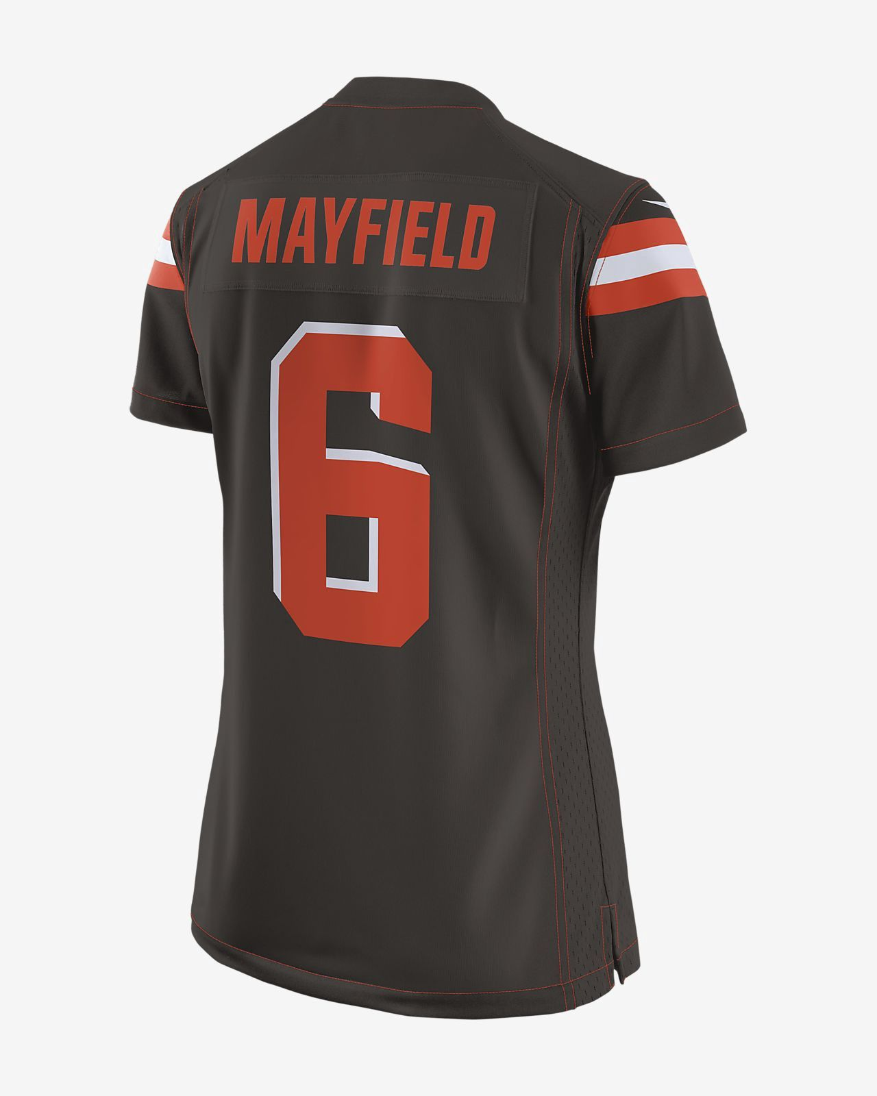 2d95fb5668a Nike Nfl Cleveland Browns Game Jersey (Baker Mayfield) Women's Football -  2Xl (20–22)
