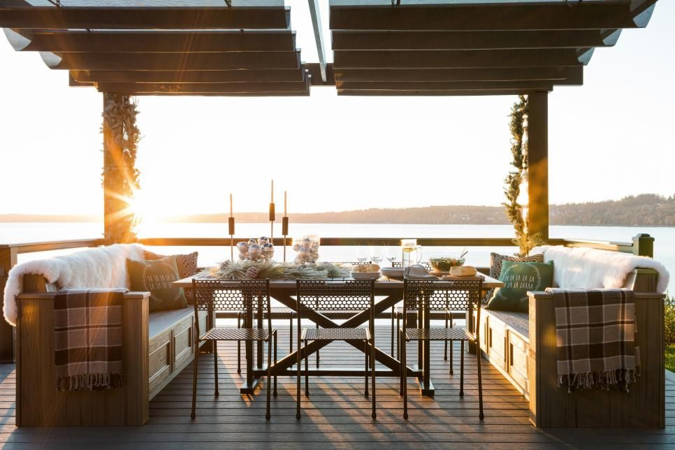Cozy and Coastal Holidays at HGTV Dream Home | Hgtv, Outdoor ...