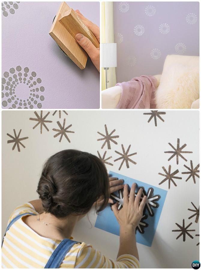 12 Diy Patterned Wall Painting Ideas