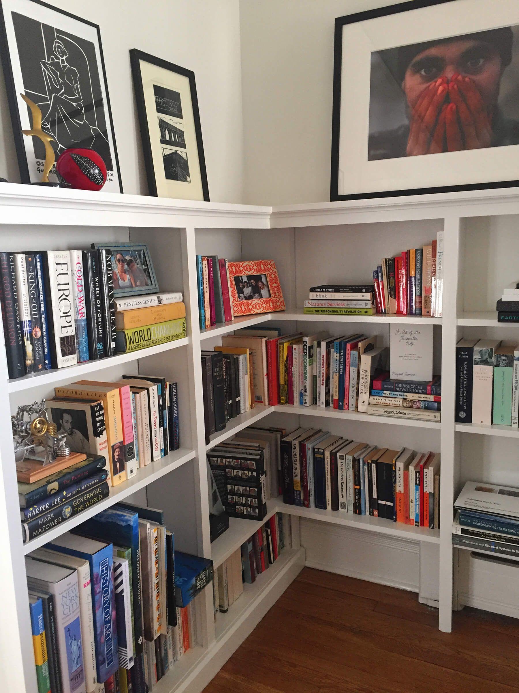 Modern Bohemian Bookshelf Art Nest Design Bookcase Classic Style