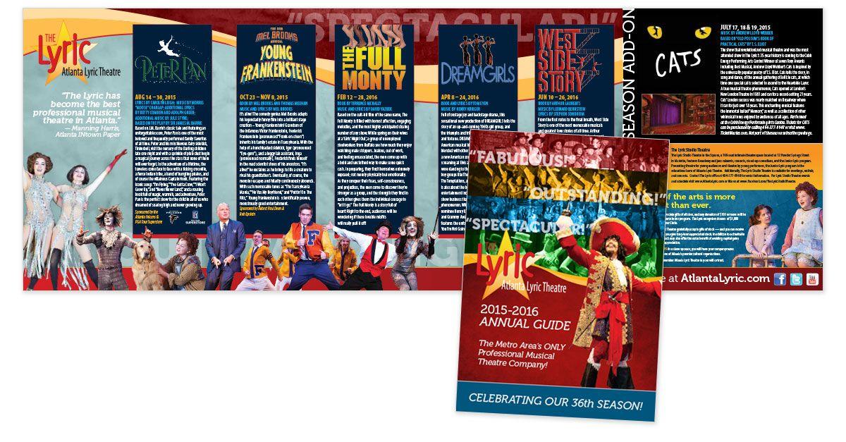 theatre brochure - Google Search