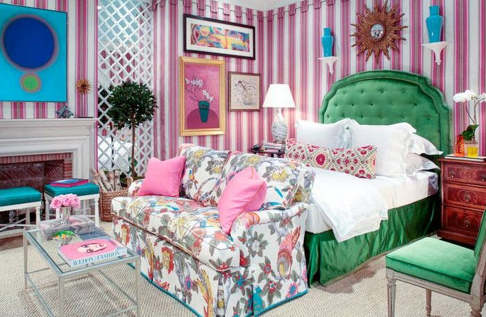 =Nick Olsen, Crazy color and pattern mixes That actually works - Comfortable home