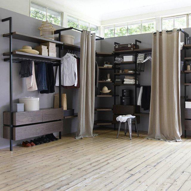 tringle rideau kyriel pour dressing maisont chb adulte pinterest tringle dressing et. Black Bedroom Furniture Sets. Home Design Ideas