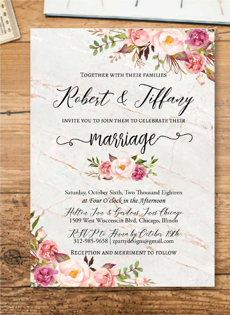 Indian Wedding Invitation Editable Kraft Invite