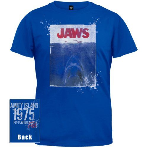 Jaws - Mens Amity Island T-shirt Small Blue Old Glory http://www.amazon.com/dp/B006C9CNG2/ref=cm_sw_r_pi_dp_.oNOvb138E3C3
