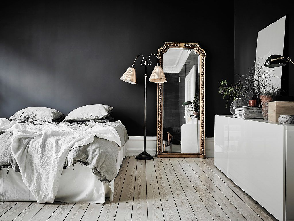 This Small Dark Walled Studio Apartment is Proof