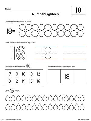 Kindergarten Math Worksheet -