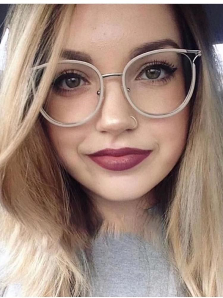 Ladies Cat Eye Glasses FramesOptical Fashion