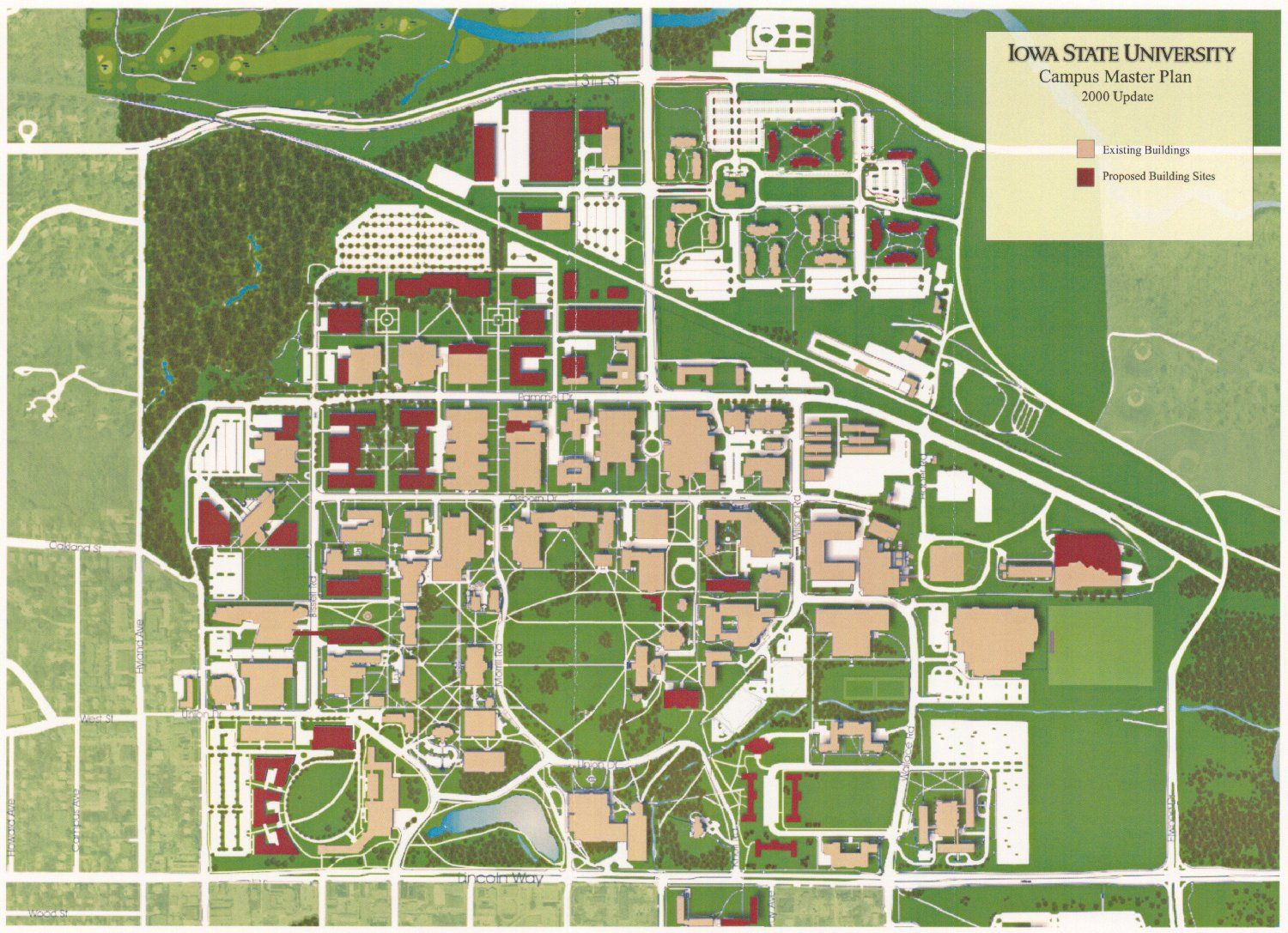 University Of Iowa Campus Map University of Northern Iowa Campus Map. | University of Northern