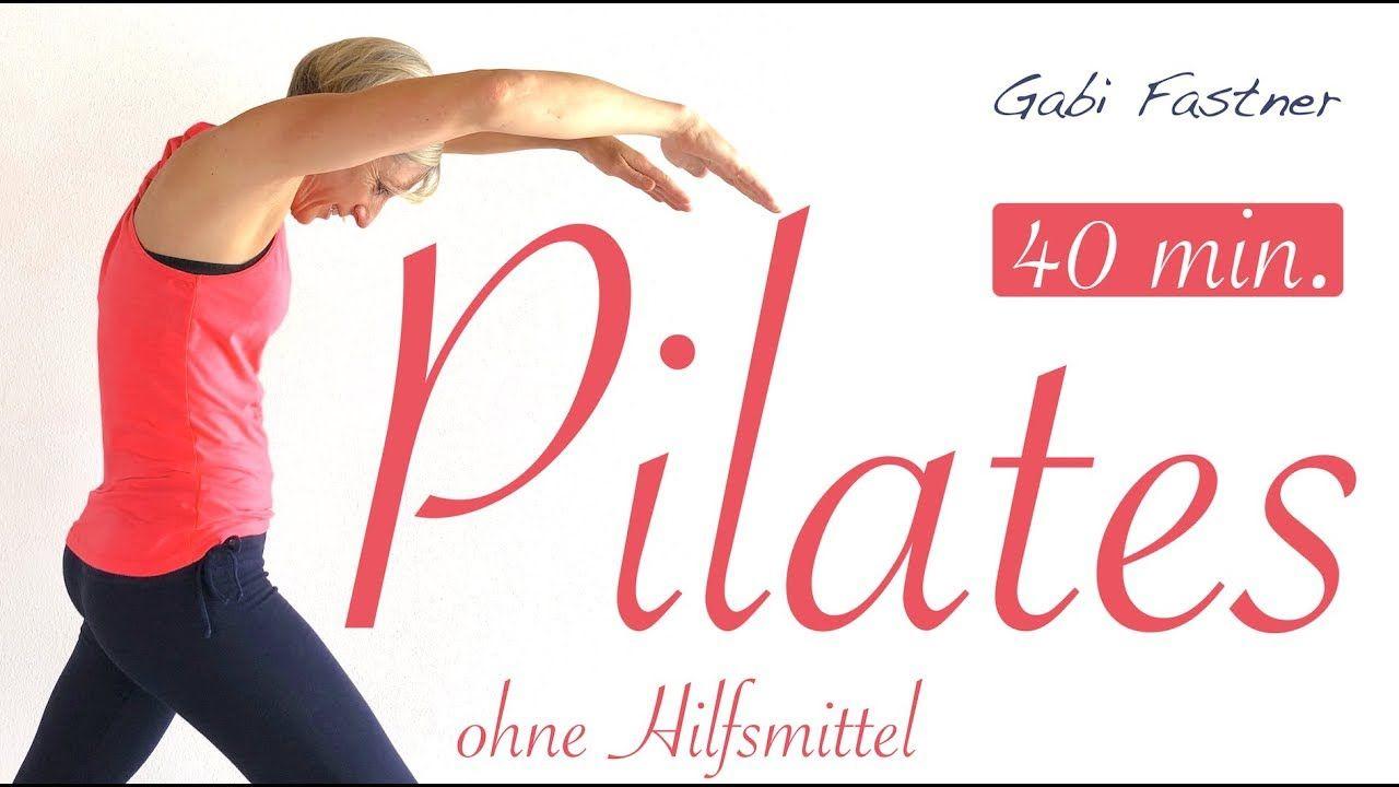 40 min.️ Pilates Kurs für Zuhause, ohne Geräte