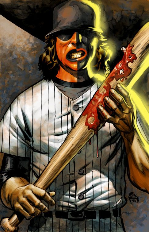 Baseball Furies From The Warriors Movie Artwork Warrior Movie Movie Art