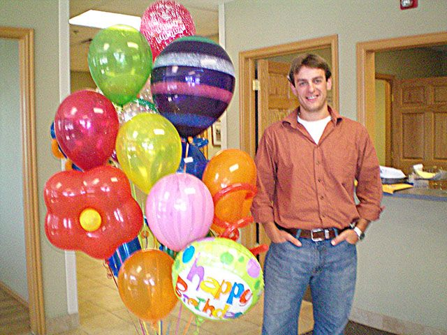 Birthday balloon bouquet delivery brings smiles Party