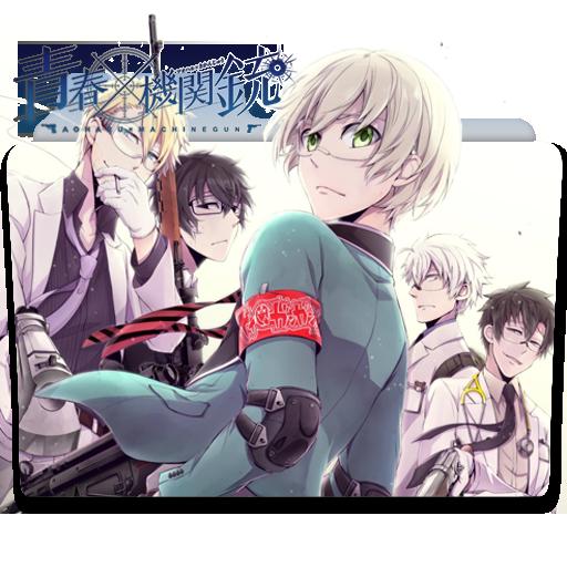 Aoharu x Kikanjuu Folder Icon by gzeromus Anime, Cosplay
