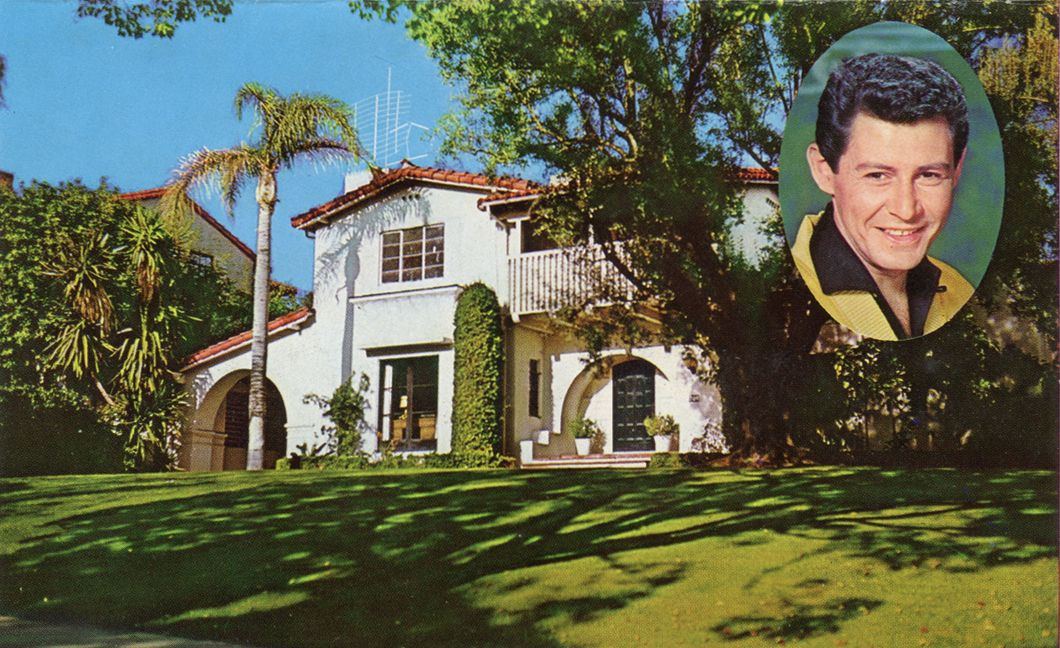 Home Of Eddie Fisher Beverly Hills California Hollywood Homes Celebrity Houses American Mansions